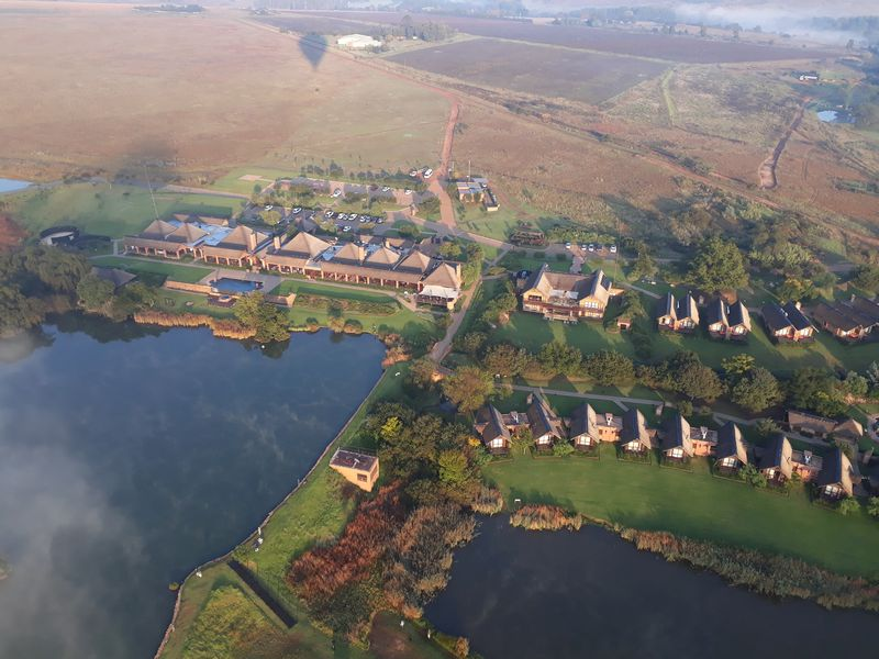 View from Air balloon